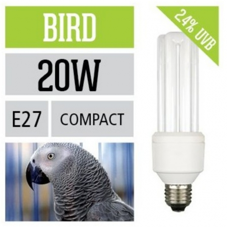 Arcadia Bird Compact Lamp 20W