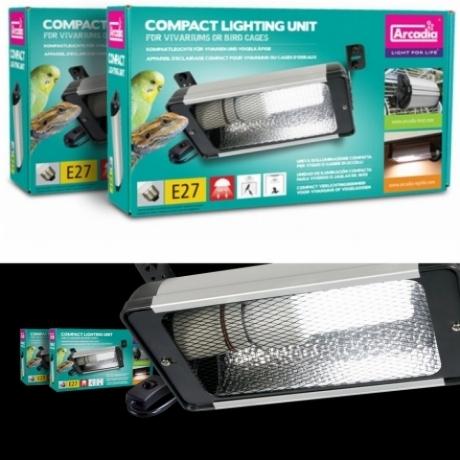 Фирменный светильник для освещения птиц и попугаев