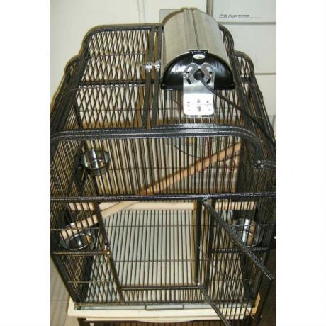 Светильник для клетки с птицами
