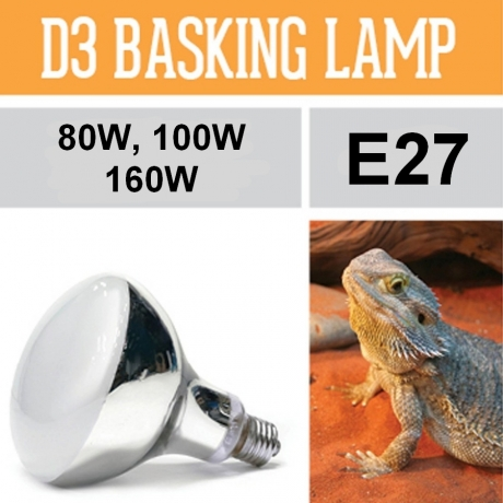 Лампа для рептилий Arcadia D3 UV BASKING LAMP