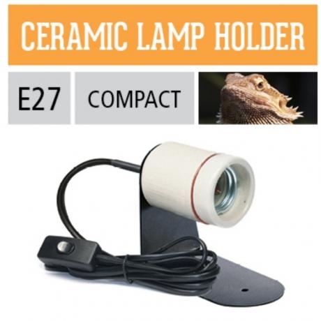Светильник Е27 для террариума Arcadia Ceramic Lamp Holder Bracket