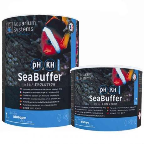 Новая упаковка буферного порошка SeaBuffer