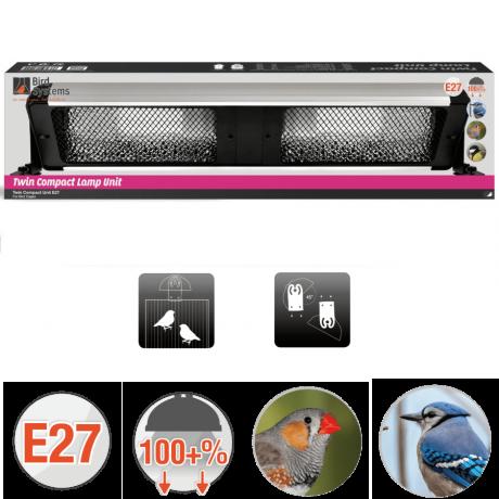 Светильник для птиц Bird Systems Twin Compact Lamp Unit