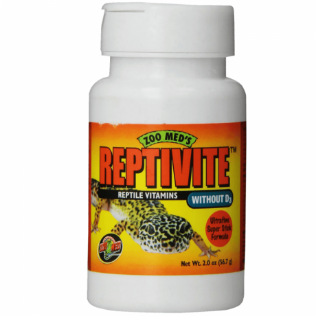 Zoomed Reptivite Without D3