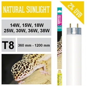 Лампа для рептилий NATURAL SUNLIGHT T8