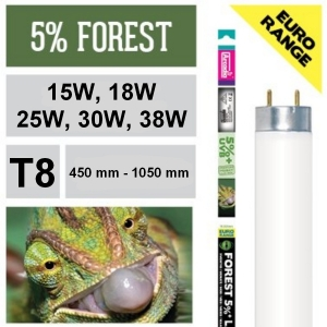 Лампа для рептилий Arcadia Euro-Range Desert 5% + UVB