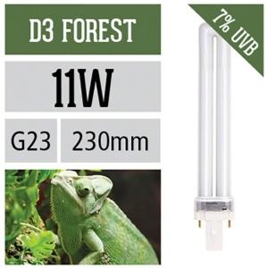 Лампа для рептилий Arcadia D3 Forest G23 для светильника Arc Pod