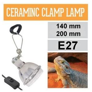 Светильник для террариума Arcadia Ceramic Reflector Clamp Lamps