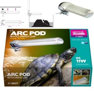 Arcadia D3 ARC POD LAMP для красноухих черепах