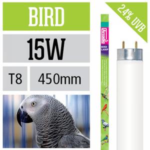 Лампа Arcadia для птиц 450 мм 15 Вт