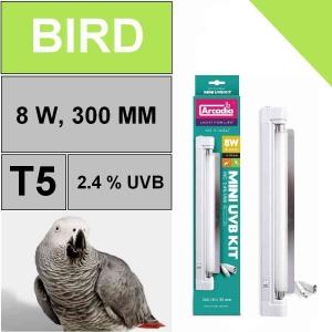 Светильник для птиц Arcadia Mini 8W UVB Kit