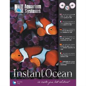 Морская соль - Этикетка Instant Ocean