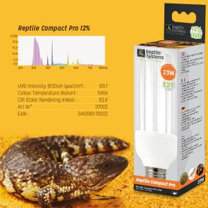 УФ лампа для террариума Reptile Compact Pro 12%