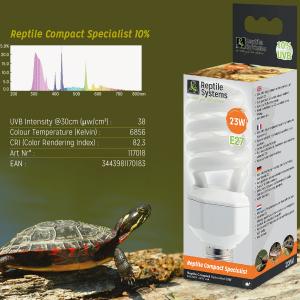 УФ лампа для террариума Reptile Compact Specialist 10%