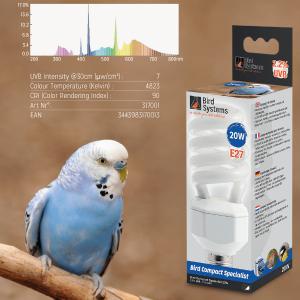 Лампа для волнистых попугаев Bird Systems Bird Compact Specialist 2.2%